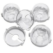 30xclear Safety Oven Knobs Cover 4 Pack - Baby Proofing Protection Lock For