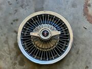 Used 1963 Oldsmobile Spinner Wire Wheel Hubcap F85 Cutlass