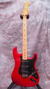 Used Moon Order Made St Red Electric Guitar Free Shipping