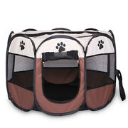 30xportable Folding Pet Tent Dog House Cage Dog Cat Tent Playpen Puppy Kennel