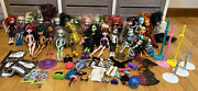 Collectorandrsquos Lot Of 27 Monster High Dolls W Clothes Shoes Accessories And Bed Huge