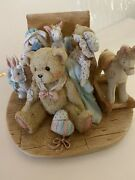 Cherished Teddies Christopher Old Friends Are The Best Friends 950483 1991
