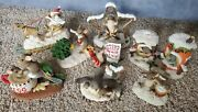 Charming Tails Lot Of 8 Snow Holiday Christmas Dive Into The Holidays Wish List