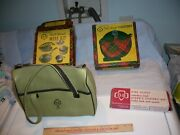 Assorted Vintage Girl Scout Accessories Mess Kit Canteen Cutlery Purse Free Sh