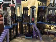 2015 Monster High Deluxe High School Castle Haunted Mansion Doll House Furniture
