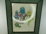 Sesame Street Art Dudley Sketch Limited Edition Rare Art Drawing Signed 77/250