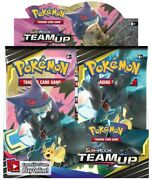 Pokemon Sun And Moon Team Up Booster Box - Factory Sealed - Near Mint/mint
