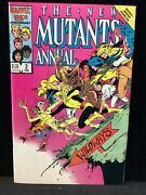The New Mutants Annual 2 First Appearance Psylock. High Grade