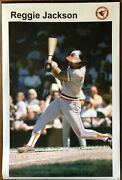 1976 Reggie Jackson Baltimore Orioles Poster Sports Illustrated Si Like 24x36 In