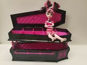 Monster High Jewlery Box Coffin Bed + Dead Tired Draculaura Doll