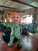 Oem Christmas Cocomelon Mascot Costume All Size Festival Party Cosplay
