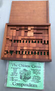 C.a. Cross 1979 The Chinese Cross Compendium By Pentangle Hants Uk Dnorty Puzzle