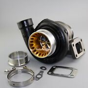 Gt3582r Ball Bearing Turbo A/r.63 Com. A/r.70 T3 Flange V-band Water With Clamp