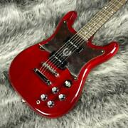 Epiphone Wilshire P-90 Cherry By Gibson New E.guitar 6 String Ss Bizarre Type