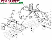 Exploded View Frame 72 Cm Xf130hd Mower Lawn Mower Castelgarden 2002-13 Parts