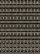 Global Chic Indoor/outdoor Woven Upholstery Fabric Multi 10 Yards Black/tan