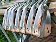 Miura Made Nike Forged 2004mb Rare 4-pw Irons S300 Tour Issue - Forged Blades