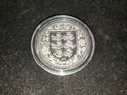 2018 - 1 Oz Pure .999 Silver - Royal Arms Of England Coin W/ Capsule