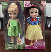 New Snow White And Tinkerbell Disney Princess Toddler Doll Dolls New With Box