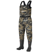 Waders Chest Wader Fishing Hunting Neoprene With Insulated Rubber Boot Foot Men