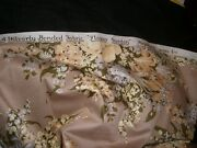 Vintage Fabric Upholstery Waverly Bloomcraft Remnant Polished Cotton-group