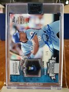 2018 Topps Archives Bo Jackson 1/1 Chasing History Buy-back On Card Auto Ssp