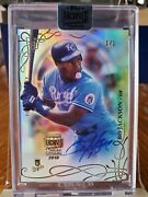 2018 Topps Archives Bo Jackson 1/1 2015 Tribute Buy-back On Card Auto Ssp