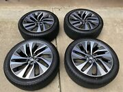 21 Oem Jaguar F Pace Wheels And Tires Style 1068