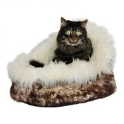 Lambskin - Cat Cave Cat Bed Cat House Sleeping Area Cuddly Cave