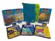 Leapfrog Leappad Learning System Model 57-000-01 With 6 Books And 6 Games Tested