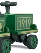 Kidsclub Ride On Trackless 12v Train Expansion Car 1919 Brand New In Box Green