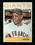 1964 Topps Willie Mays 150 Mint