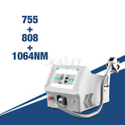 Professional Diode Laser 3 Wavelength 808nm 755nm 1064nm Hairs Removal Equipment