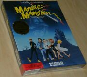 Maniac Mansion Apple Ii Big Boxed New/sealed Collectible English Rare