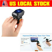 Eyoyo Wireless Bluetooth Usb Wired Ring 1d Barcode Scanner Work For Warehouse