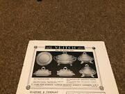 Ant4 Antiques Advert 5x8 Veitch Fine Old English Silver Dishes