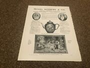 Aabk23 Antiques Advert 11x8 Sotheby And Co Auctions Fine Brussels Tapestries