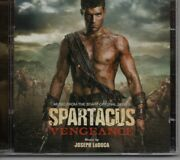 Joseph Loduca Spartacus Vengeance And Gods Of The Arena 2 Cd Very Rare