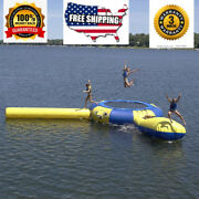 Commercial Inflatable Floating Trampoline Water Slide Course We Finance 3m
