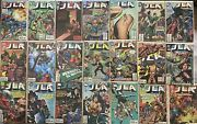 Jla 1997 + Graphics 94 Books Total Vf/nm To Mint 50 Is Signed By Waid