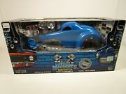 Muscle Machines 1/18 And 1/64 Build It Blue 1941 Willys Coupe Set Please Read