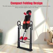 Foldable Gravity Inversion Table Back Stretcher For Pain Relief