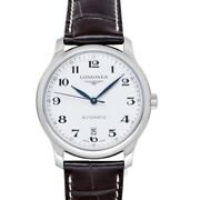 Longines The Longines Master Collection L26284783 Silver Dial Menand039s Watch