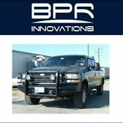 Ranch Hand For 99-04 Ford F-250/f-350 Legend Series Width Black Front Hd Bumper