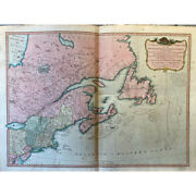 A New And Correct Map Of The British Colonies In North America, Laurie And Witth