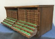 Large Antique French Black Forest Coin Collector Furniture Early 1900and039s Wood Oak