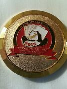 2015 Moose Lodge International Poker Tournament Coin Card Protector Fathers Day