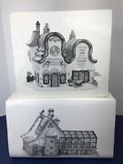 Department 56 Christmas North Pole Greenhouse Bakery Bakers Shop Lot 2 W/ Box X