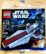 Lego Star Wars Republic Attack Cruiser 30053 Polybag Mint/sealed/retired