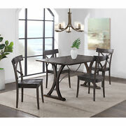 Picket House Furnishings Camden Folding Top 5pc Dining Set Lnb100ftcow5pc
